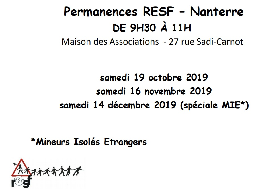 RESF Permanence T4 2019